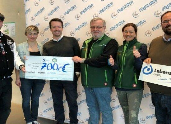 INK4AID Spendenmarathon - FlyStation & Lebenshilfe München