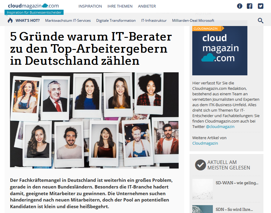 HR-Marketing im cloudmagazin