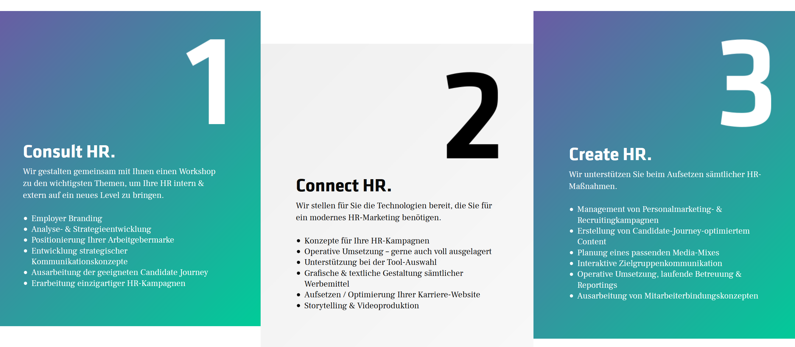 HR-Marketing - 3 Steps to Success
