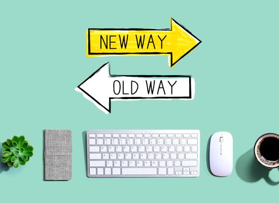 Digital Effiency Programm, neue Wege, alte Wege, Kommunikation, digital